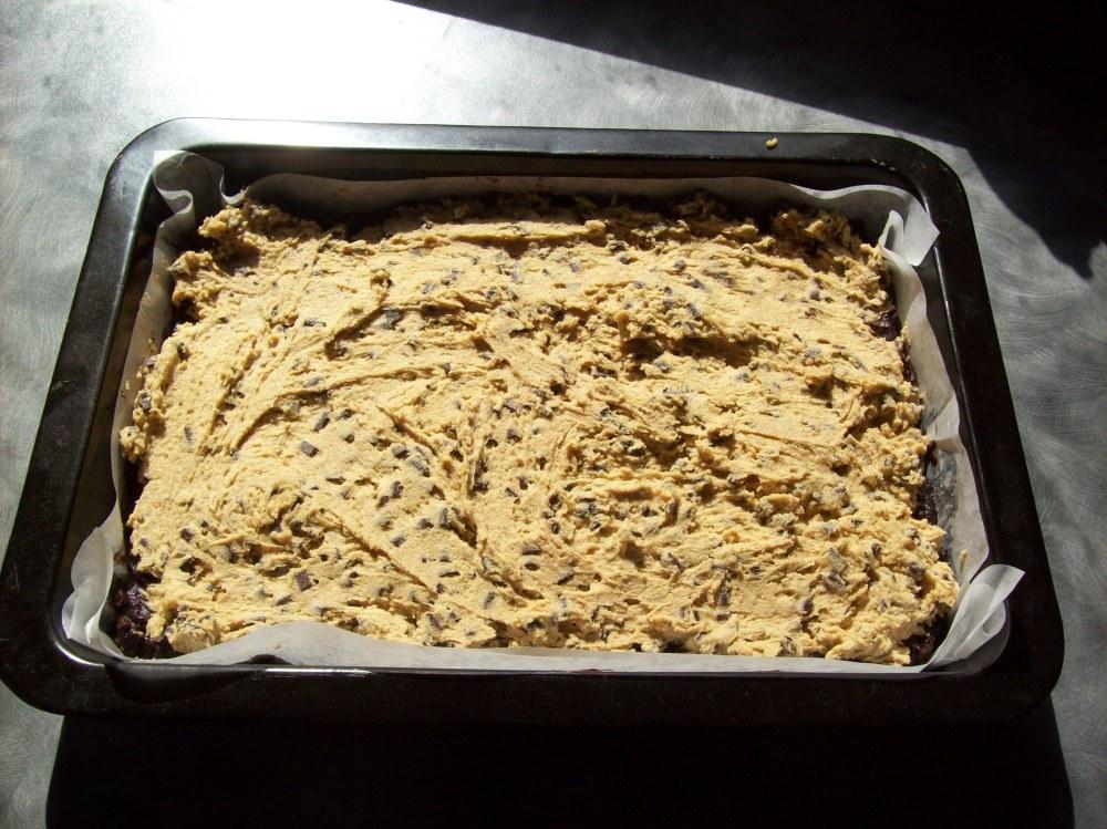 Brookie before baking